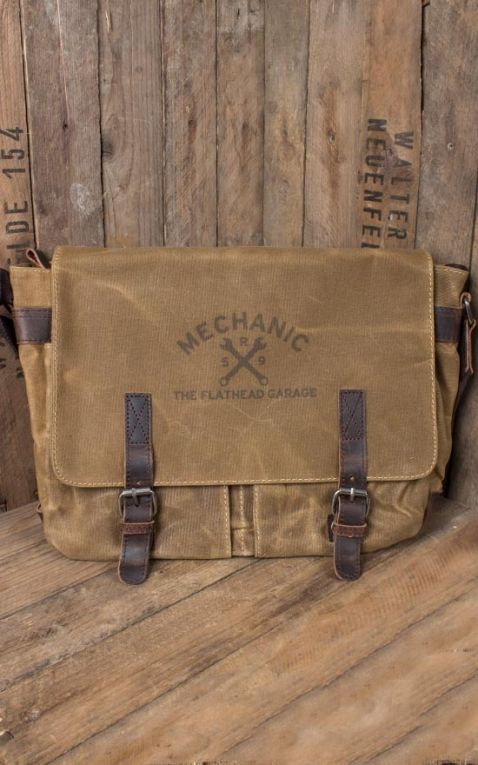 Rumble59 - Canvas Workerbag - The Flathead Garage