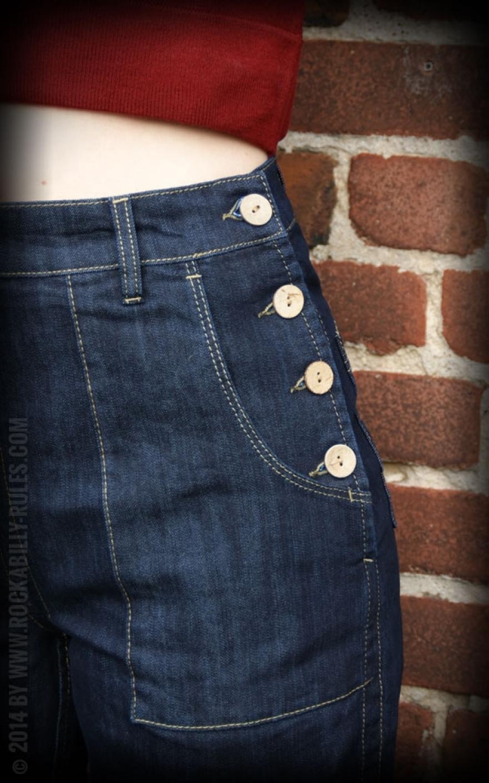 rumble59 marlene jeans blue rockabilly rules. Black Bedroom Furniture Sets. Home Design Ideas