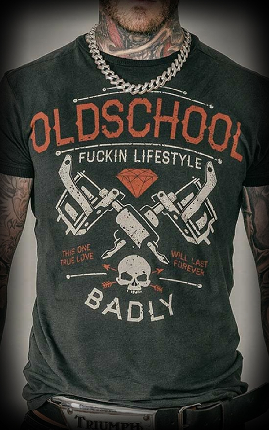 t shirt oldschool lifestyle rock and roll wear. Black Bedroom Furniture Sets. Home Design Ideas