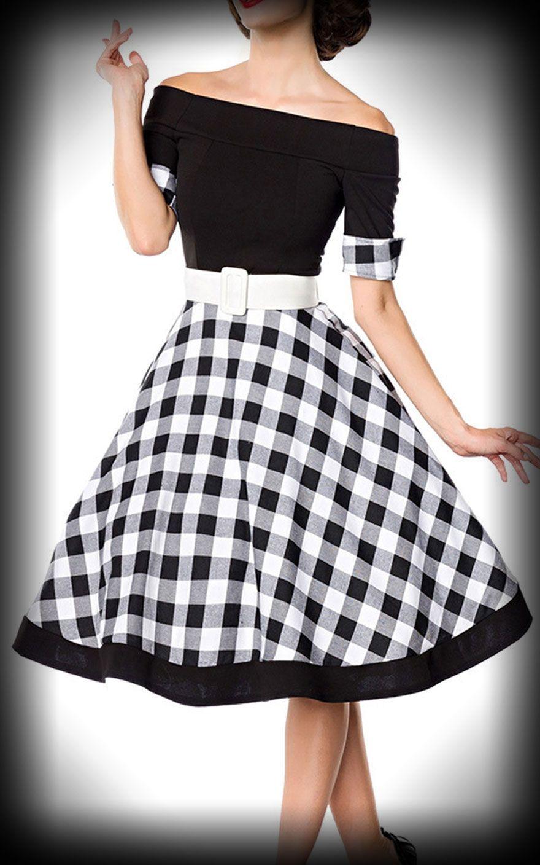 e63f2b4de4b5 Belsira - Off--the-Shoulder Swing Dress