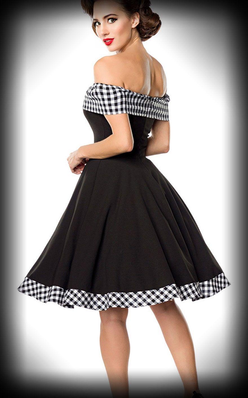0498b0f4f2a2 Belsira - Off-the-Shoulder Swing Dress Louise