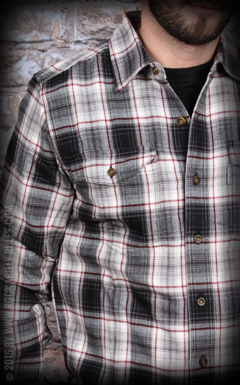 Carhartt slim flannel shirt streetwear for you for Trim fit flannel shirts