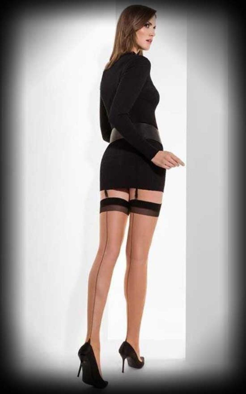 410e022d8c5 Cette Nylon stockings with seam Berlin
