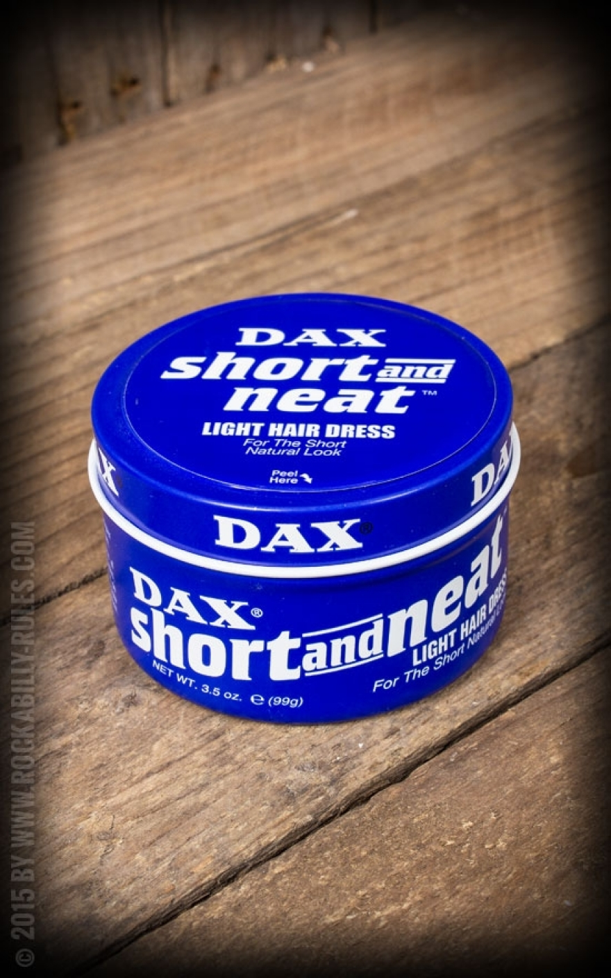 Dax blue short neat pomade for Papeterie dax