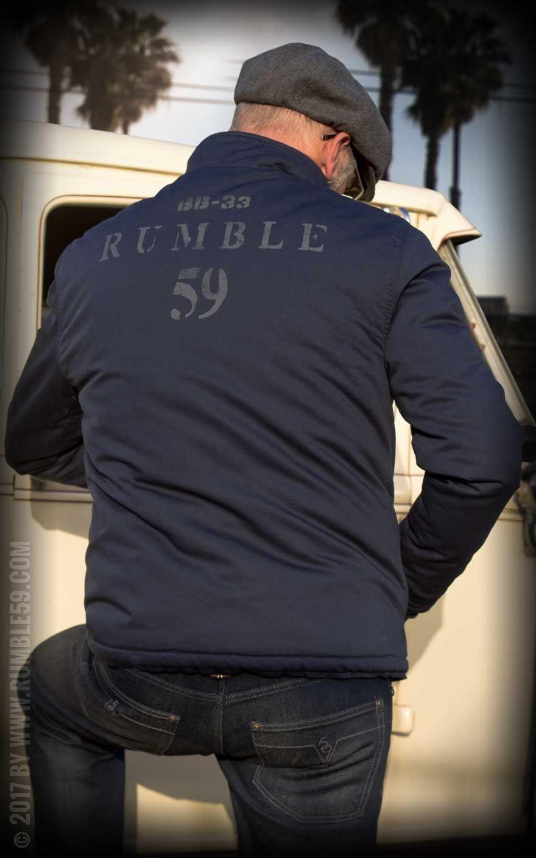 Rumble59 Deck Jacket navy