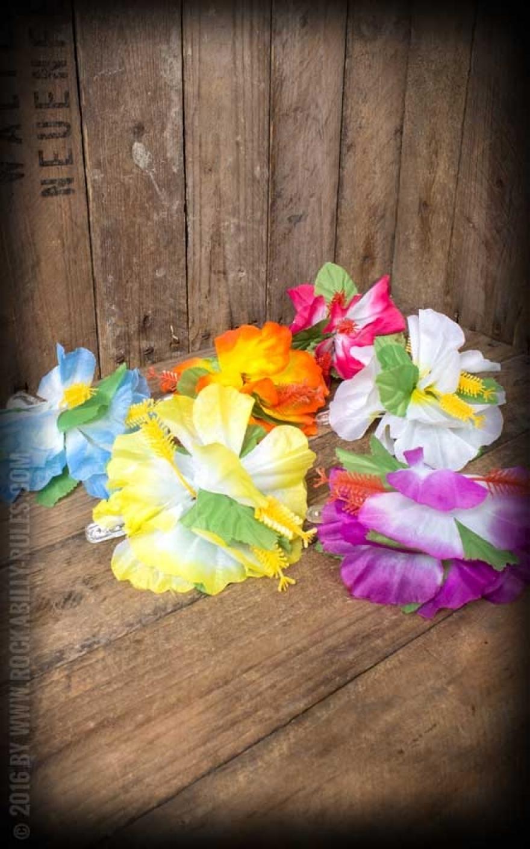 haarspange haarclip aloha hawaii hibiskus bl te. Black Bedroom Furniture Sets. Home Design Ideas