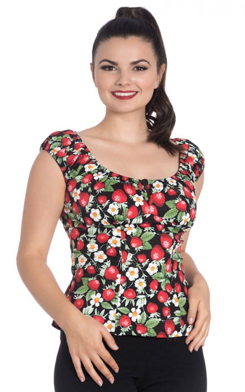 Top Model Bettwäsche : hellbunny top sundae erdbeere rockabilly rules ~ Watch28wear.com Haus und Dekorationen