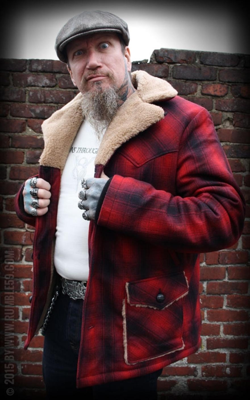 Karierte Winterjacke Minnesota | 50s Holzfäller Style