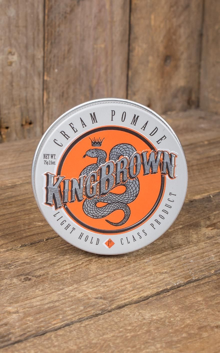 Kingbrown Cream Pomade Rockabilly Rules King