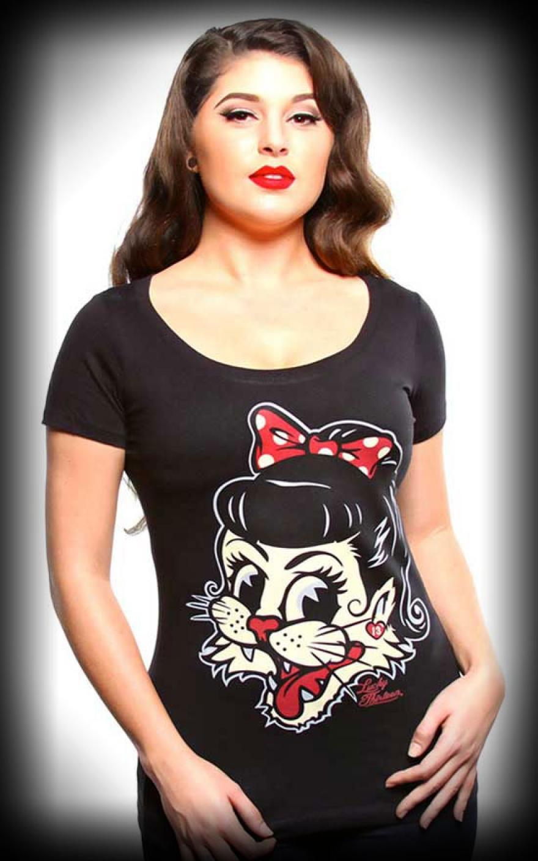 Lucky13 Scoop Neck Girls Shirt - Miss Alley