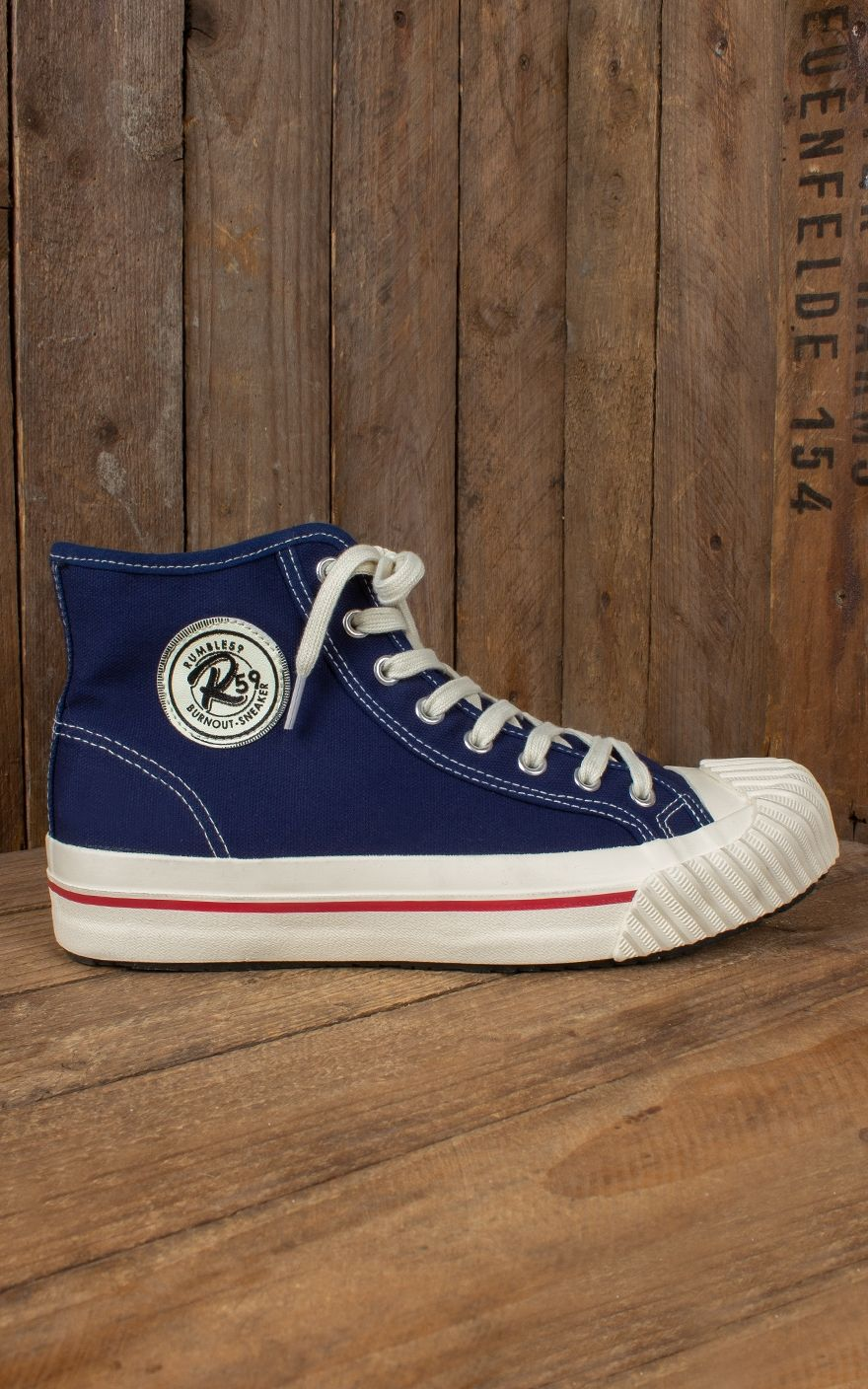Rumble59 Rumble59 Burnout Marine Blue Rumble59 Marine Sneaker Burnout Sneaker Blue Yb6gf7y
