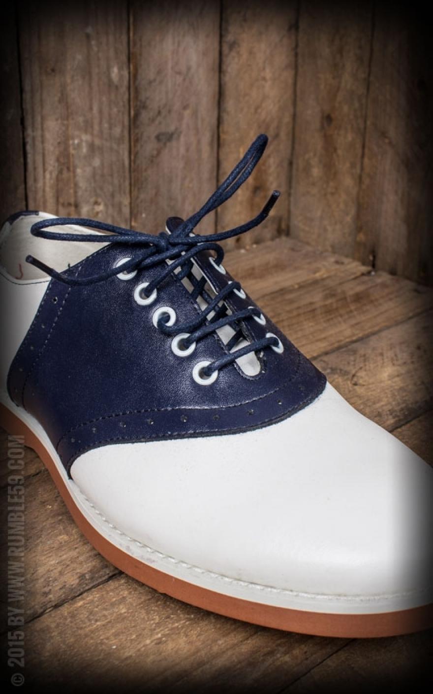 c8fc156f4aada2 ... Rumble59 - Saddle Shoes for Men - Blue Bird ...