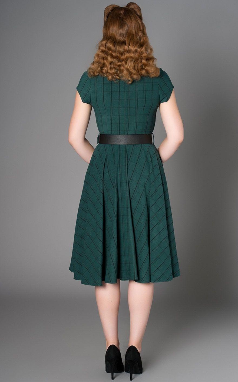 bf83fcbd4f Sheen Clothing Dress Florence Plaid