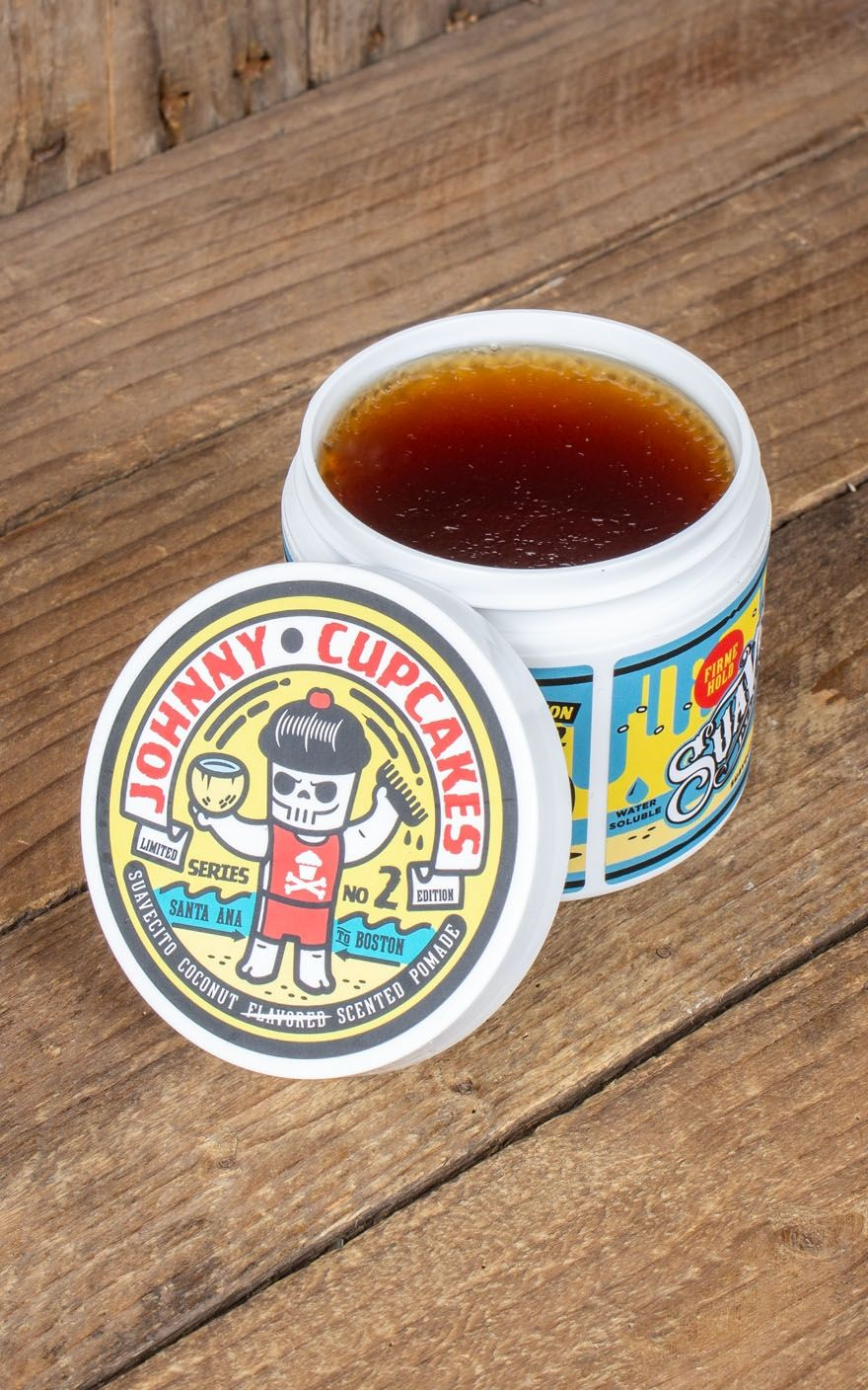 Suavecito Johnny Cupcakes No2 Firme Rockabilly Rules Pomade Original Hold Strong Made In Usa