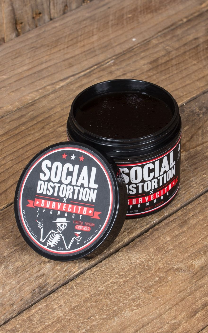 Suavecito Pomade Social Distortion Edition Firme Hold Grease Original Strong Made In Usa