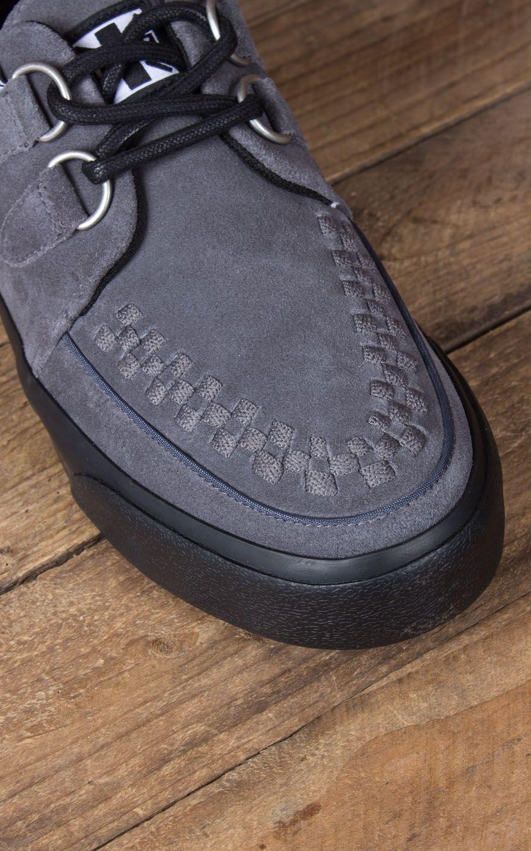 T.U.K – VLK – Creeper Sneaker aus Wildleder mit D Ringen