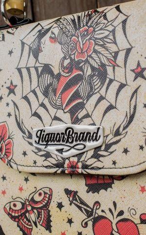 Liquorbrand Bambus Handtasche Tattoo Gypsy Queen