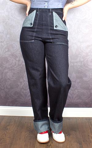 Freddies of Pinewood Denim - Utility Jeans