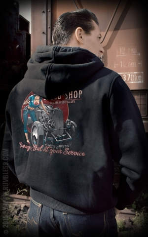 Rumble59 - Hoodie-Jacket - Hotrod Betty's Speed Shop