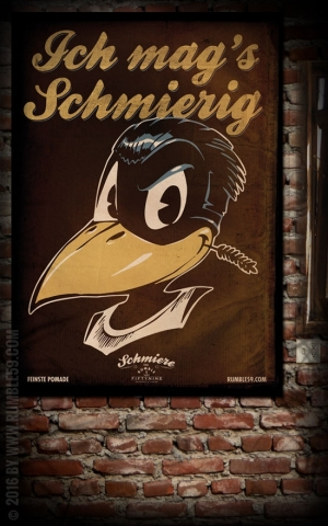 Rumble59 Poster - Ich mag's schmierig
