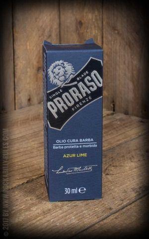 Proraso Soin barbe avec baume, huile et nettoyant, Azur Lime