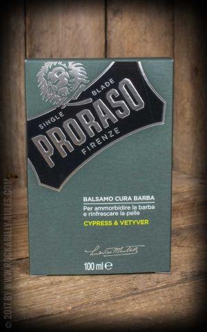 Proraso Soin barbe avec baume, huile et nettoyant, Cyprès & Vetyver