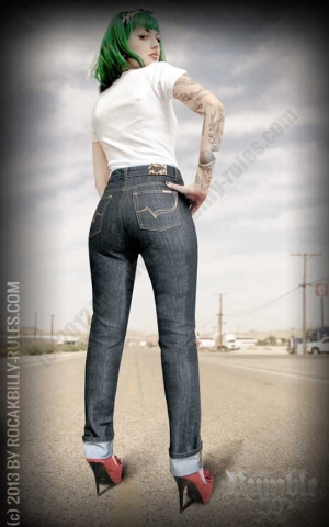 Rumble59 Ladies Denim - Marilyns' Curves - Slim Fit