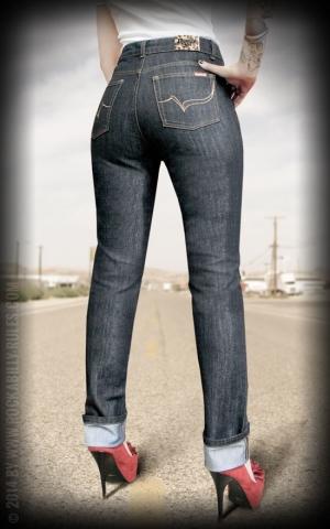 Rumble59 Ladies Denim - Marilyns Curves - Slim Fit