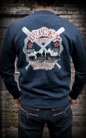 Rumble59 - Sweatshirt - Ducky Boys - blau