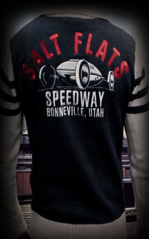 Rumble59 - Racing Sweater - Salt Flats Speedway