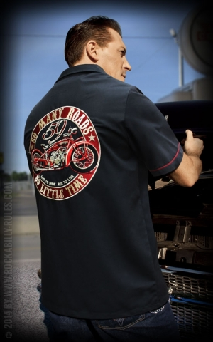 Rumble59 - Worker Shirt - Many Roads - Little Time