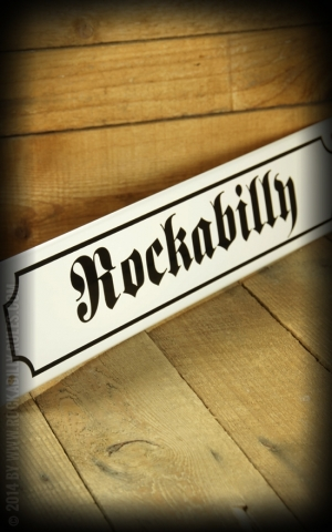 Street sign with Email coated - Rockabilly