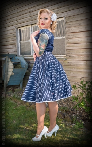 Rumble59 Ladies - Petticoat Skirt - Sweet Polkadots