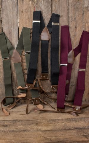Suspenders, different colors