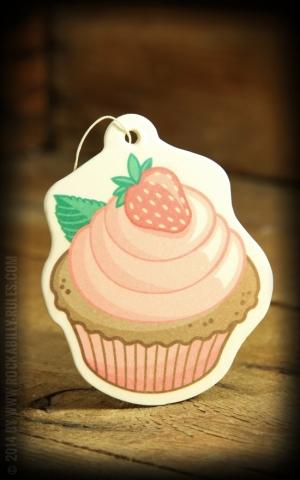 Airfreshener Cupcake - Erdbeere