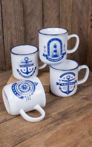 Anker Tasse, verschiedene Designs