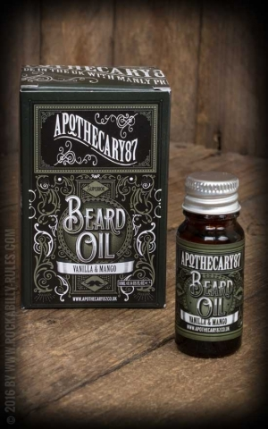 Apothecary 87 - Vanilla & Mango - Beard Oil, 10ml