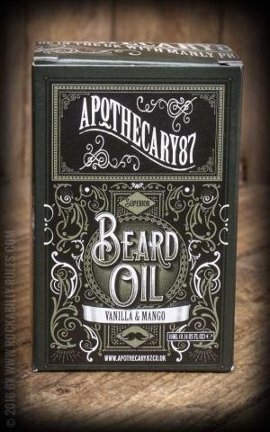 Apothecary 87 - Vanilla & Mango - Beard Oil, 10ml