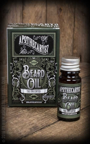 Apothecary 87 - The Unscented - Beard Oil, 10ml