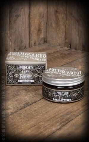 Apothecary 87 - Vanilla & Mango Clay Pomade