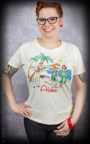 Atomic Swag Ladies Shirt Aloha