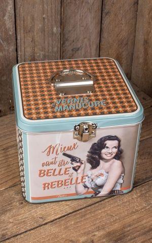 Cosmétique Boîte de rangement - Belle et Rebelle