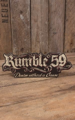 Rumble59 - Sticker without a cause