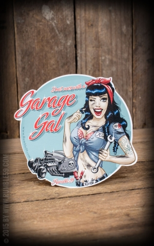 Rumble59 - Sticker Garage Gal