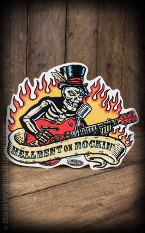 Sticker Hellbent by Vince Ray