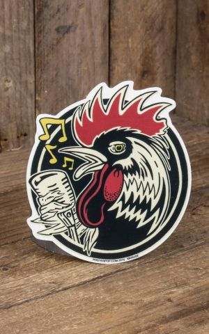 Sticker - Kruse Rockabilly Rooster