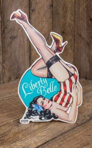 Sticker Rimada Liberty Belle by Gustavo