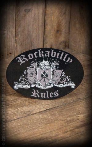 Autocollant - Rockabilly Rules