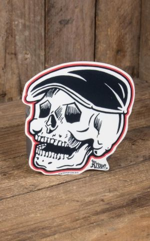 Sticker - Rodder Skull