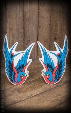 Sticker Swallow | Blue Birds